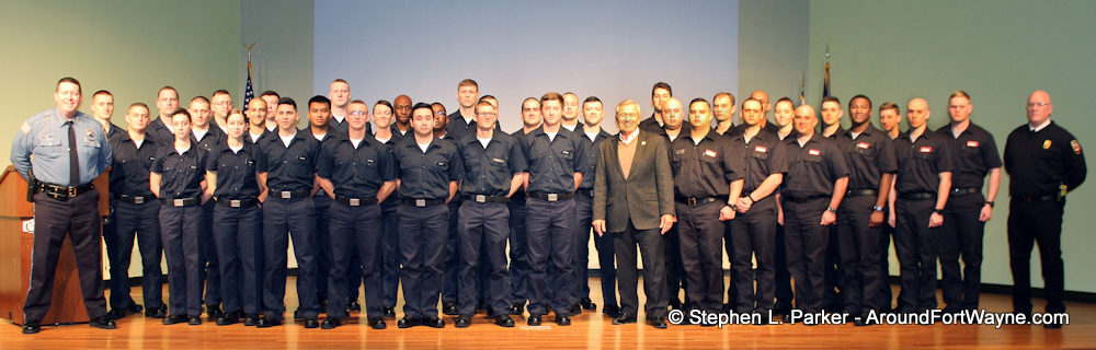 The new FWPD and FWFD recruit classes