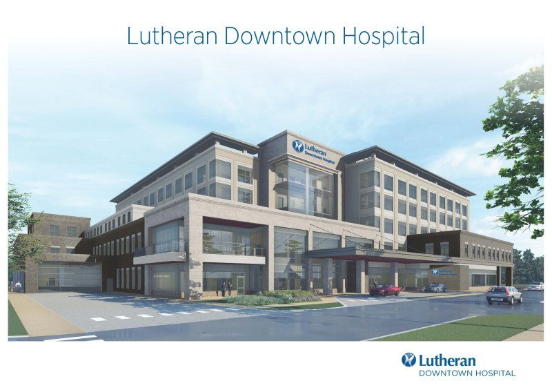 Lutheran Downtown Hospital updated design