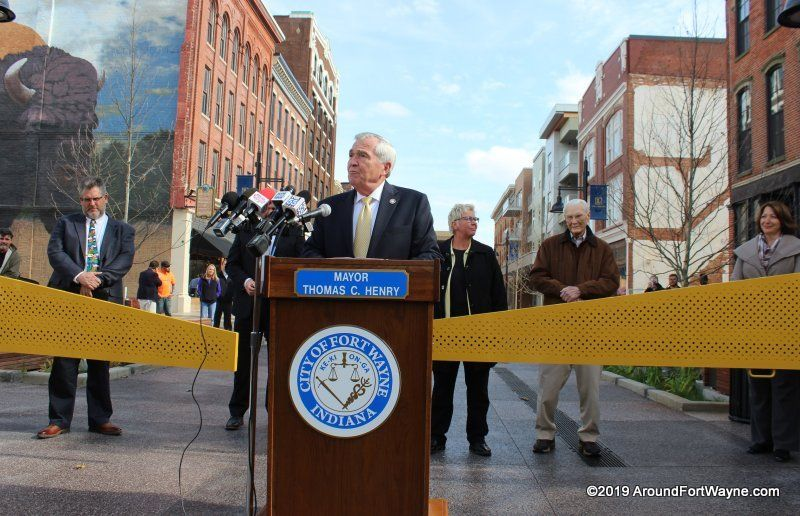 West Columbia streetcape unveiling