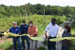 Ravinia State Forest ribbon cutting