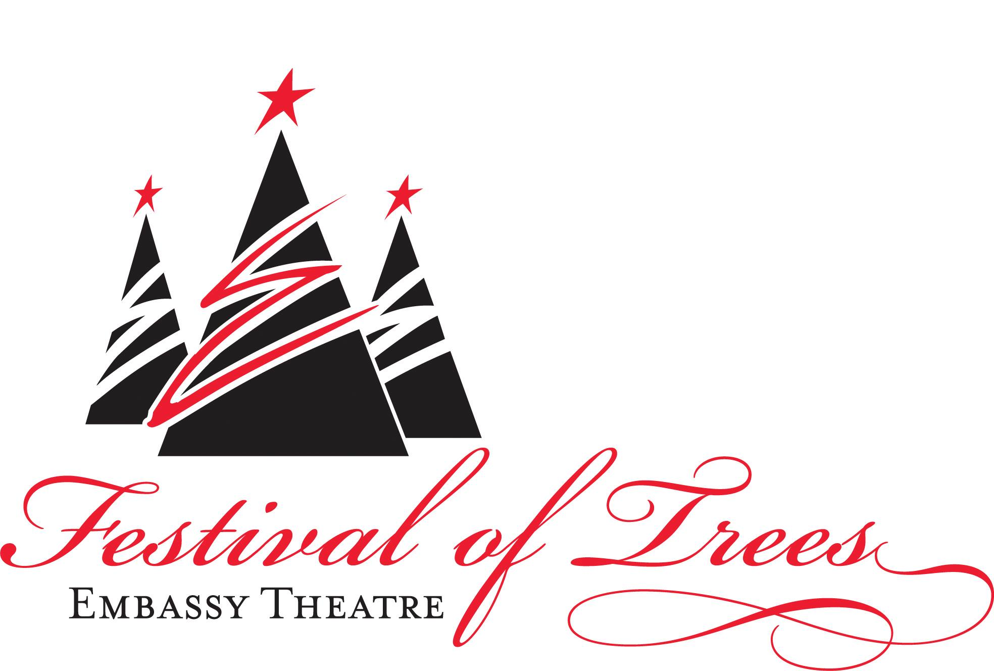 Embassy Theatre Festival Of Trees banner