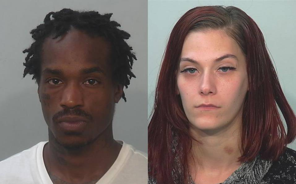 Suspects in the Mc Clellan Street accident Fort Wayne Police Department Marquel_Bright-Ashley_Fromm