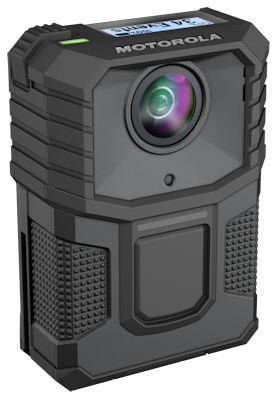The V300 Body-Worn Camera. This is the camera the Fort Wayne Police Department wants to purchase for FWPD officers. Image from www.motorolasolutions.com.